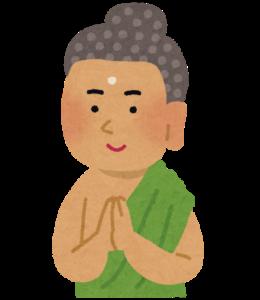 釈迦・仏陀の似顔絵イラスト